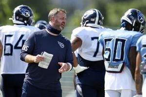 Titans without defensive play-caller due to COVID testing