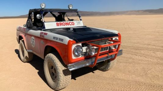 This Is What It's Like To Ride In The 1969 Baja 1000-Winning Ford Bronco