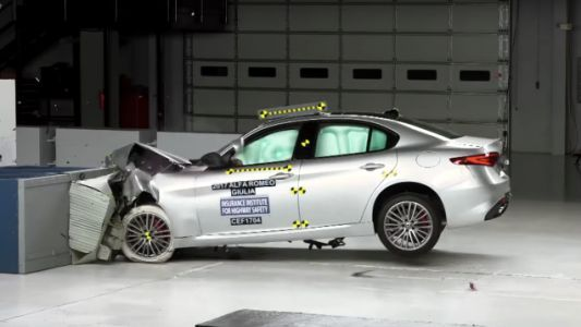 Here's How An Alfa Romeo Giulia Performs In A Crash Test