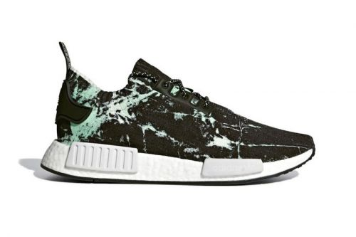 "The adidas NMD R1 Primeknit Receives A ""Green Marble"" Colorway"