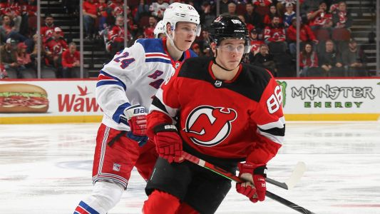 With Devils' Jack Hughes and Rangers' Kaapo Kakko settling in, focus shifts to future