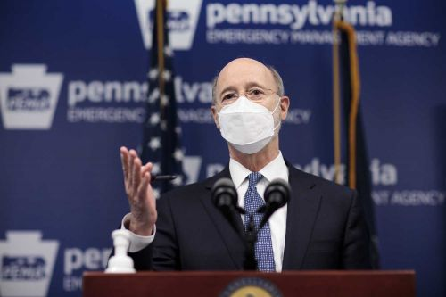 Wolf holds briefing about teacher vaccinations