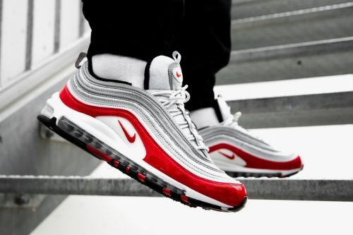 """An On-Foot Look at Nike's Air Max 97 """"Gym Red"""""""