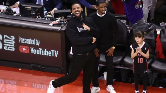 Drake had his fun during Raptors' Game 6 win over Bucks