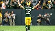 Aaron Rodgers Leaves Game Injured, Then Returns To Lead Stunning Comeback