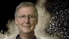 Mitch McConnell Mocks Blankenship On Twitter With A Big Cloud Of Cocaine