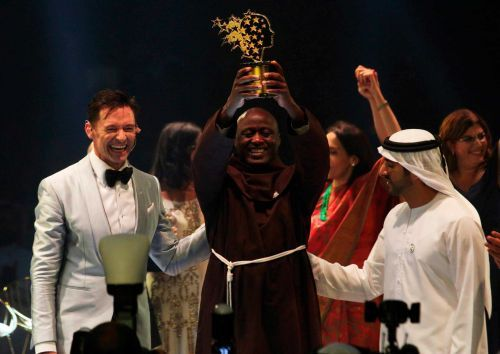 Kenyan teacher who gives away 80 percent of his salary awarded $1M global prize