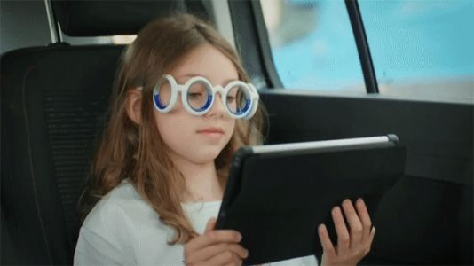 These Bizarre Glasses Promise to Cure Your Motion Sickness-But At What Cost