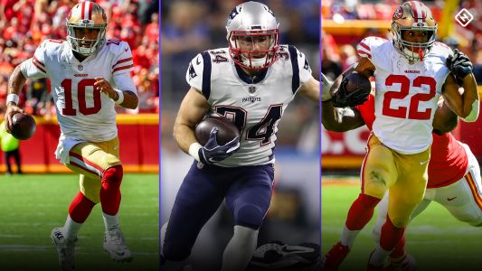 Fantasy Injury Updates: Jimmy Garoppolo likely has torn ACL; Rex Burkhead, Matt Breida injuries affect Week 4 rankings