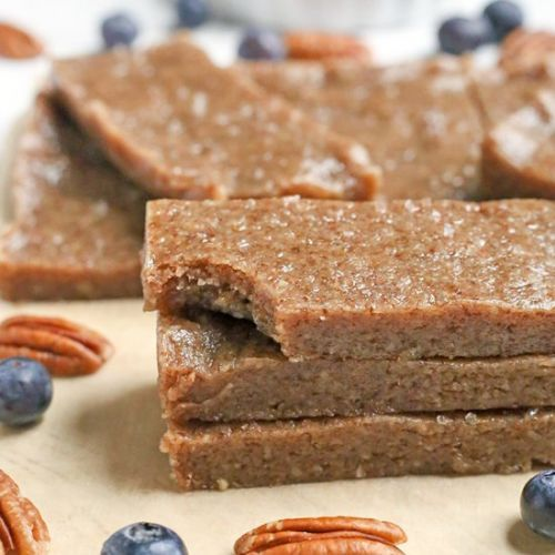 Paleo Maple Sea Salt Protein Bars