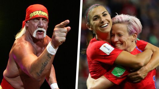 Hulk Hogan offers message of support for USWNT: 'Whatcha gonna do when the USWNT runs wild on you?'