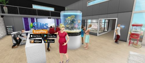 The Sims FreePlay mobile game gets augmented reality with Brilliant Backyards update