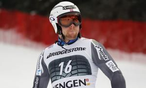 Schwarz leads opening slalom run in World Cup combined event