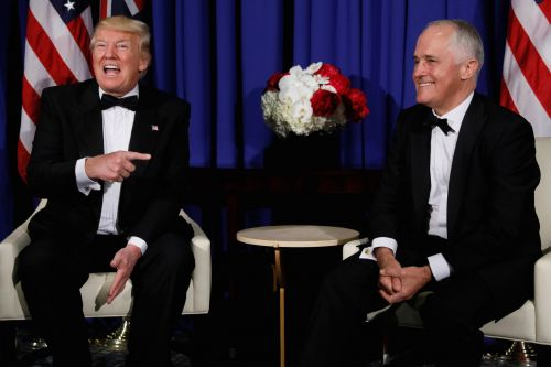 Australian Prime Minister Turnbull is heading to the US to talk business, China, and North Korea with Trump