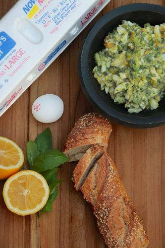 Green Goddess Egg Salad Dip