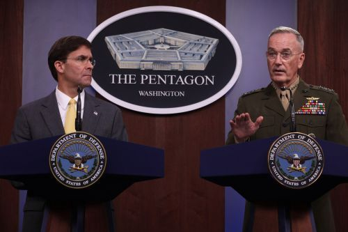 A Cautious Pentagon Presents Iran Military Options to Trump