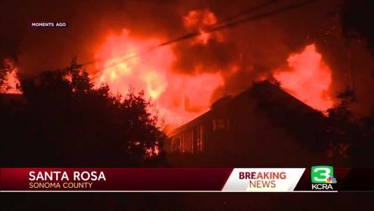 Glass Fire: Homes destroyed as fire grows to 11,000 acres