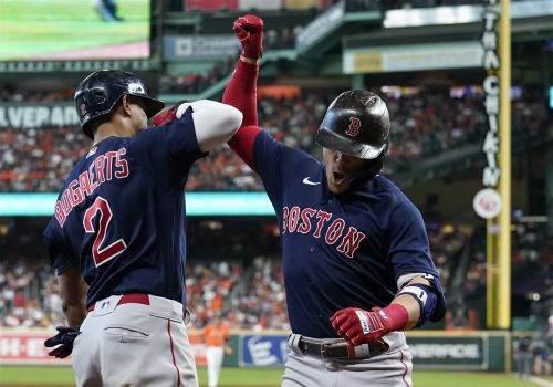 Two early grand slams lead Boston to ALCS win against Houston