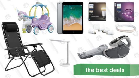 Thursday's Best Deals: Samsung's Best TV, Refurbished iPads, Coffee Makers, Smart Home Lighting, and More
