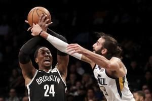 Mitchell returns, carries Jazz to 101-91 victory over Nets