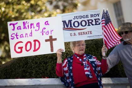 Christian Conservatives Not Quitting On Moore