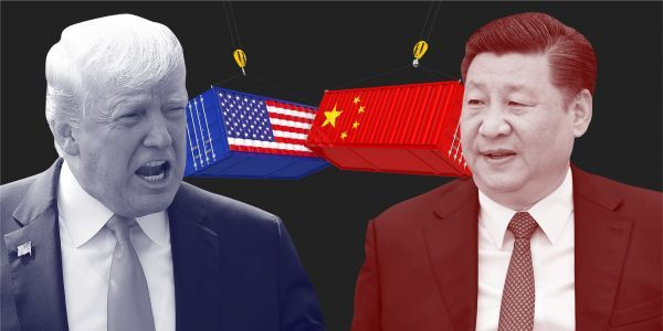 One of China's most senior officials is going to the US to try and diffuse Trump's trade war