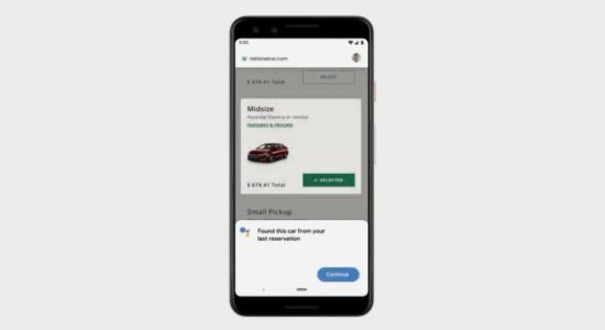 Google Duplex for the web can reserve rental cars and movie tickets