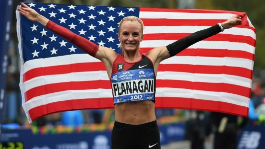 Shalane Flanagan becomes first American woman since 1977 to win NYC Marathon