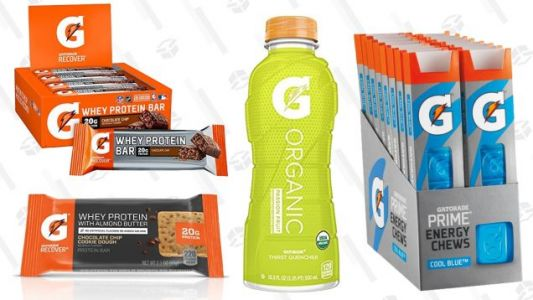 Fuel Up For Your Workouts With Amazon's One-Day Gatorade Sale