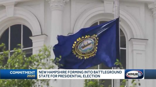 New Hampshire forming battleground state for presidential election