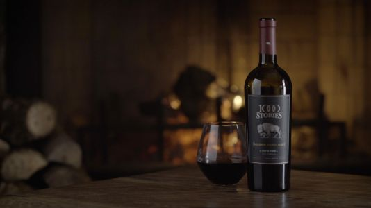 Bourbon Barrel-Aged Wine with a Hint of Whiskey
