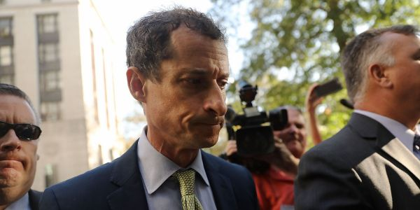 Anthony Weiner has been released from prison after nearly 15 months