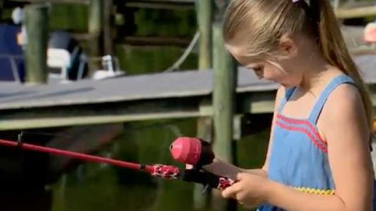 Girl goes fishing, catches boy's phone last seen over year ago