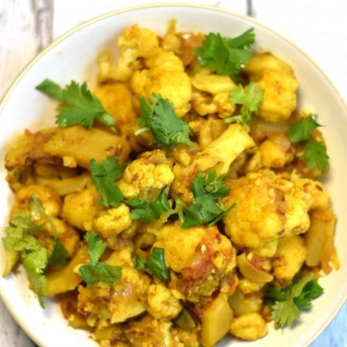 Spiced Potatoes & Cauliflower