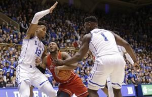 Williamson's 29 leads No. 2 Duke to 91-61 rout of St. John's