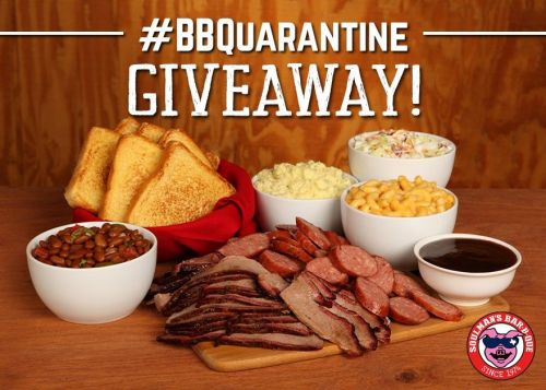 Soulman's Bar-B-Que Hosts BBQuarantine Giveaway in April