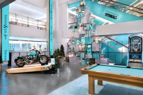 Tiffany & Co's First Men's Pop-Up Shop is Open