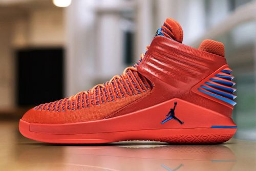 "Russell Westbrook Teased the New Air Jordan 32 ""Creamsicle"" During NBA Media Day"