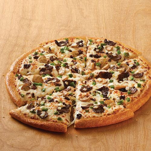 Pizza Inn Beefs Up Its All Day Buffet with Philly Cheesesteak Pizza