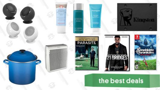 Wednesday's Best Deals: Kingston SSD Card, BBoutique Giveaway, Room Purifier, Sun Care Product Sale, Le Creuset Stockpot, and More