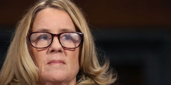 Christine Blasey Ford emerged confident and certain in the first part of her marathon testimony, and Trump's allies are worried