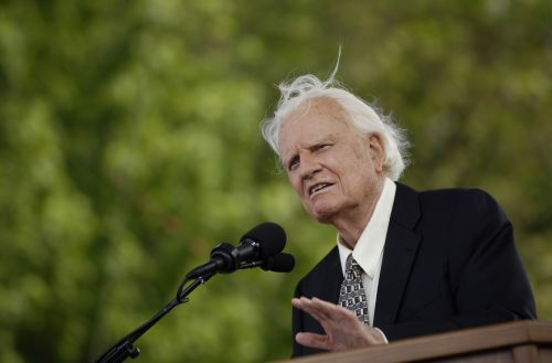 Evangelist Billy Graham: The life in pictures of 'America's Pastor'