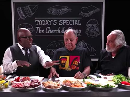 Watch Al Roker Craft His Perfect Sandwich With Cheech and Chong