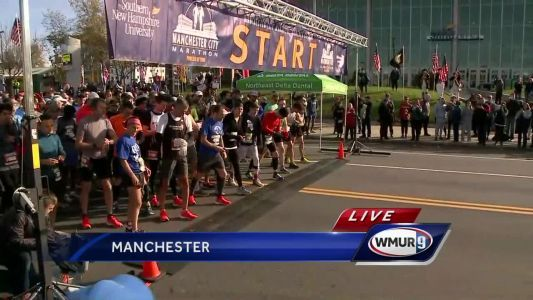 Manchester City Marathon starts live on WMUR-TV
