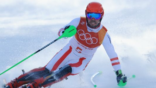 Winter Olympics 2018: Marcel Hirscher's pursuit of third gold ends with slalom fall