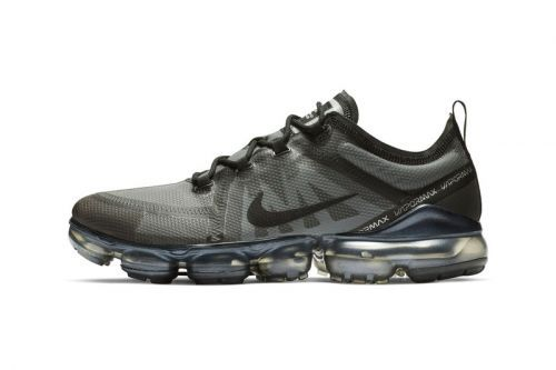 "Nike's Air VaporMax 2019 Kicks Off the New Year in ""Black/Metallic Gold"""