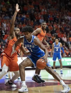 Tre Jones, No. 10 Duke rally past Virginia Tech 77-63