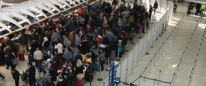 Chaos prevalent in JFK airport, storm over but travel disrupted for the fifth day