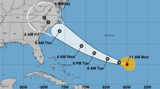 Hurricane Florence Spins Up Into A Major Storm, Heading For U.S