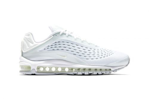 Nike Wraps the Air Max Deluxe in Clean Triple White Colorway